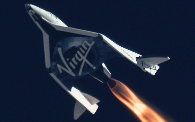 Virgin Galactic First Powered FlightSpaceShipTwo