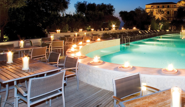 Grand Hotel Excelsior Vittoria: Swimming Pool
