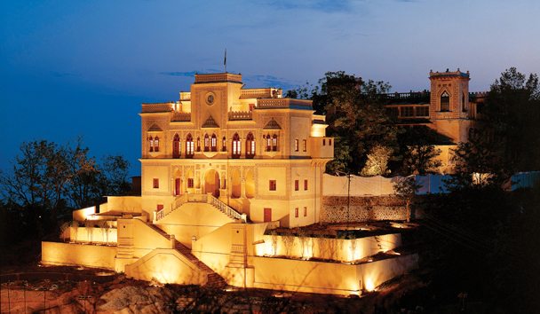 Ananda in the Himalayas: Palace Exterior