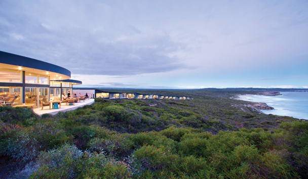Southern Ocean Lodge: Exterior