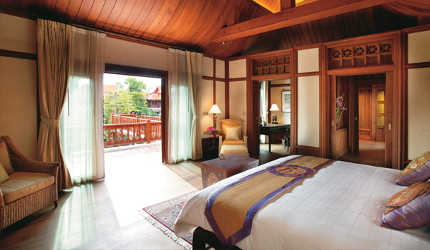 The Dhara Dhevi: Grand Deluxe Bedroom