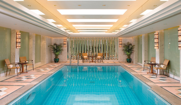 Mandarin Oriental, Hong Kong: Fitness Centre Heated Swimming Pool