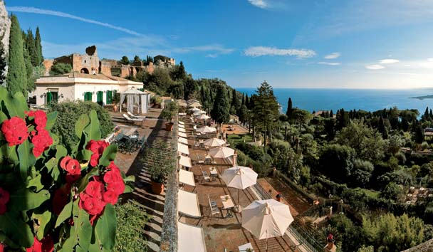 Belmond Grand Hotel Timeo: Terrace View