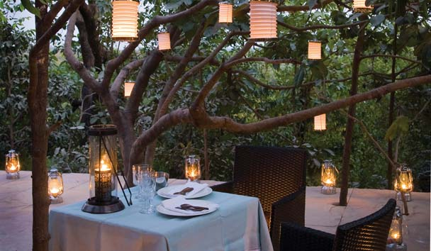 Pashan Garh: Romantic Dining