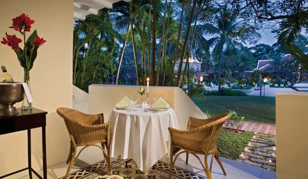 Raffles Grand Hotel d'Angkor: Suite with Private Terrace