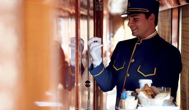 Venice Simplon-Orient-Express: In-Room Breakfast Service