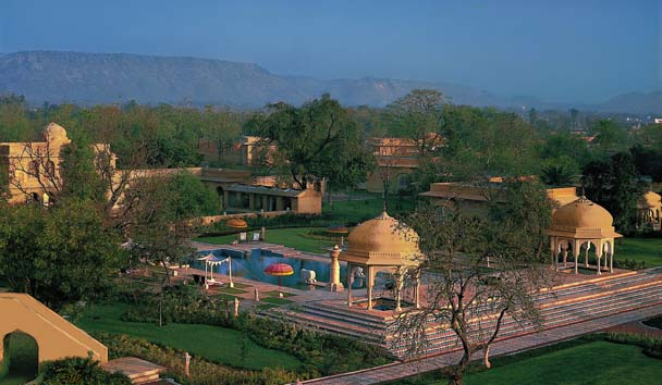 The Oberoi Rajvilas: Exterior and Pool