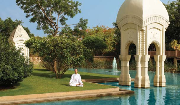 The Oberoi Rajvilas: Yoga