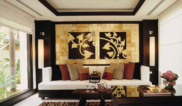 Banyan Tree Spa Sanctuary: Lounge Area