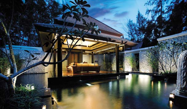 DoublePool Villas by Banyan Tree: Exterior View of Bedroom Pavilion