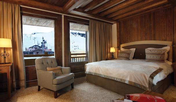 Portetta Hotel and Mountain Lodges: Family Piste View Room