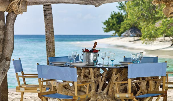 Petit St Vincent Private Island: Dining