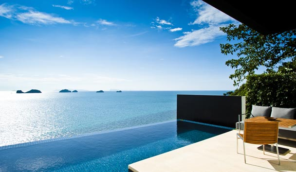 Conrad Koh Samui: Private Pool with Ocean View