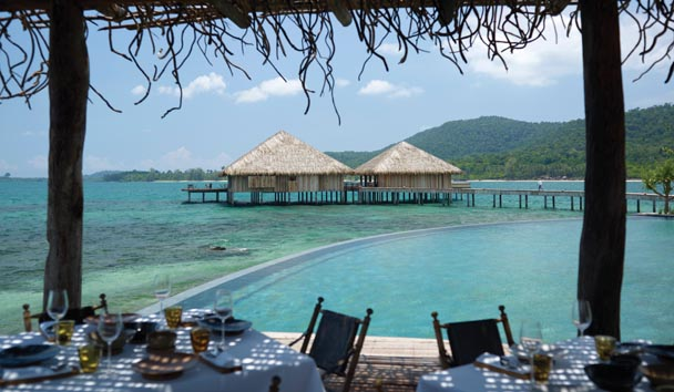 Song Saa Private Island: Dining by the Pool