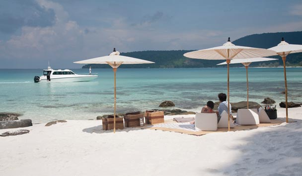 Song Saa Private Island: Beach