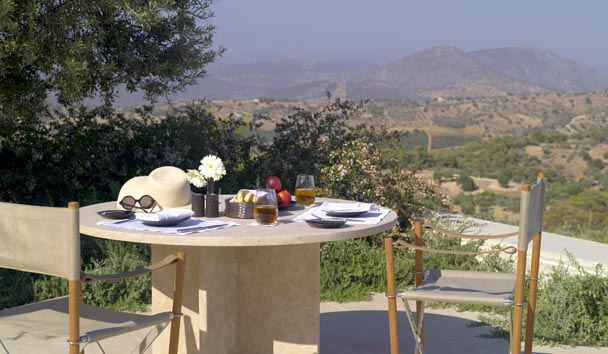 Amanzoe: Private Pavilion Dining