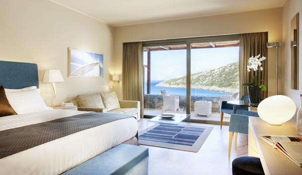 Daios Cove Luxury Resort & Villas: Deluxe Sea View with Individual Pool