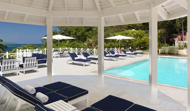 Luxury Villas at Round Hill: Poolside Pavilion