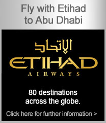 Fly with Etihad to Abu Dhabi