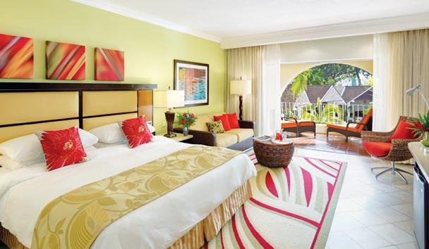 Tamarind by Elegant Hotels: Garden View Junior Suite