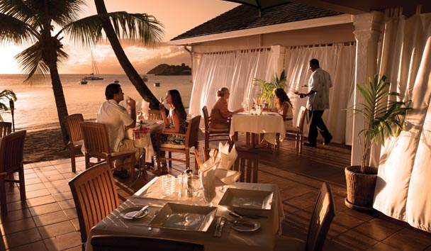 Curtain Bluff: Seagrape Restaurant