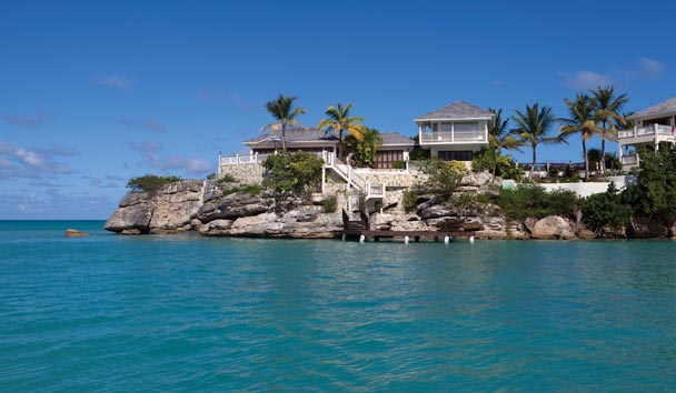 Blue Waters Resort & Spa: Rock Cottage
