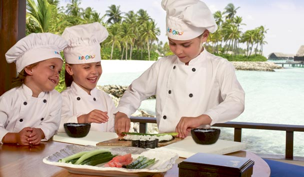 One&Only Reethi Rah, Maldives: Children's Cookery Class