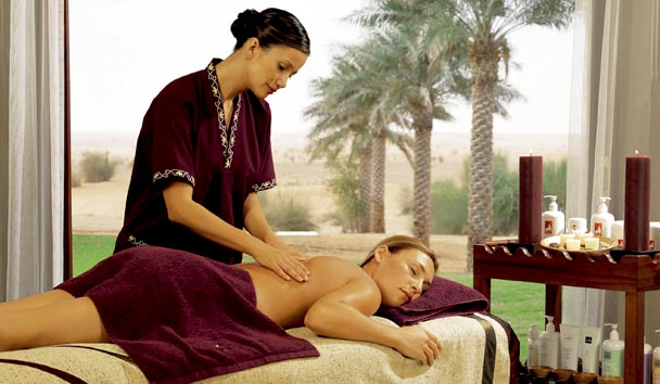 The spa at Al Maha Desert Resort & Spa