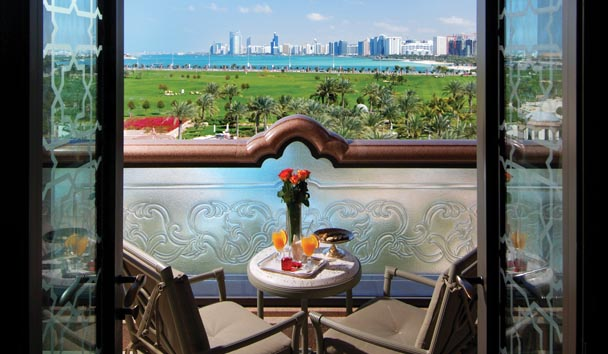 Emirates Palace: Terrace View
