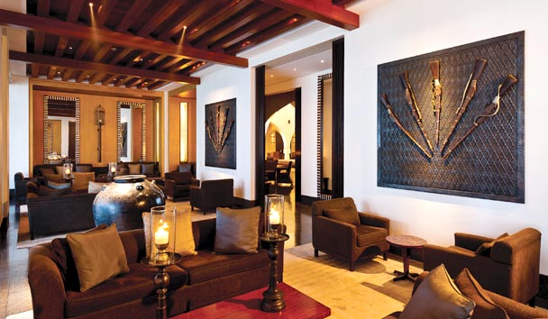 The Chedi Muscat: Lobby Lounge