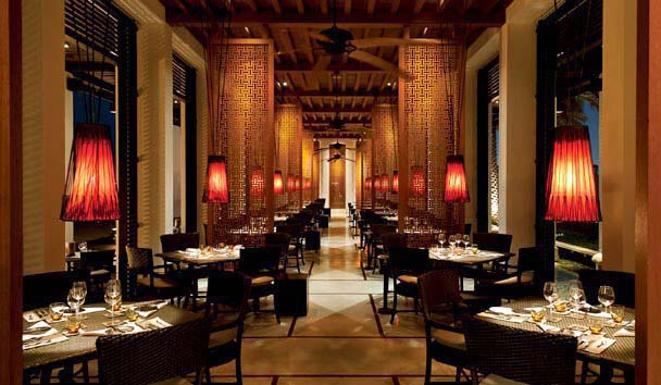 The Chedi Muscat: Beach Restaurant