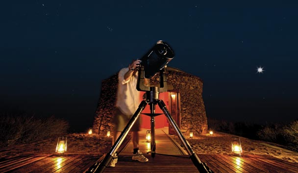 Ulusaba Private Game Reserve: Star Gazing