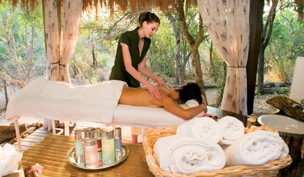 Camp Jabulani: Spa Treatment