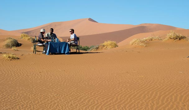 A Luxury Experience In The Namibian Desert
