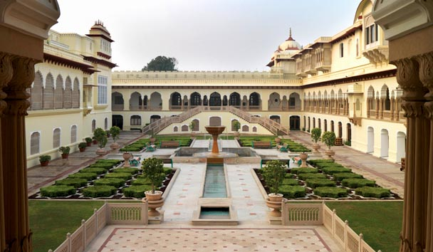 Rambagh Palace: Courtyard