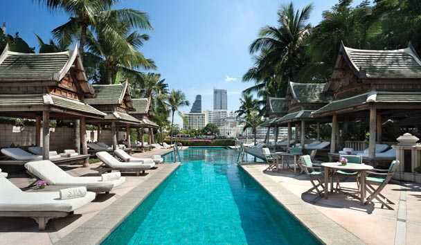 The Peninsula Bangkok: Outdoor Pool