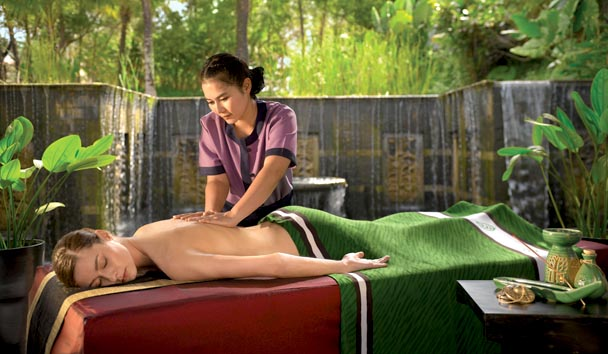 Banyan Tree Spa Sanctuary: Spa Treatment
