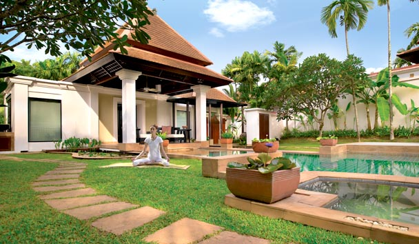 Banyan Tree Spa Sanctuary: Villa Exterior