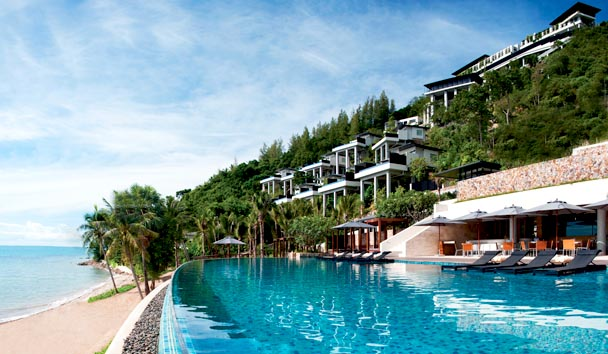 Conrad Koh Samui: Exterior View of Accommodation and Pool