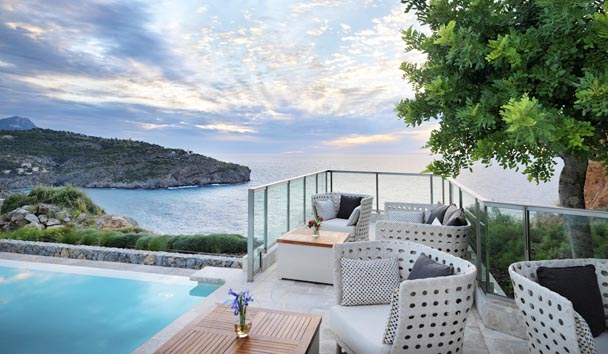 Jumeirah Port Soller Hotel & Spa: Infinity Pool Bar