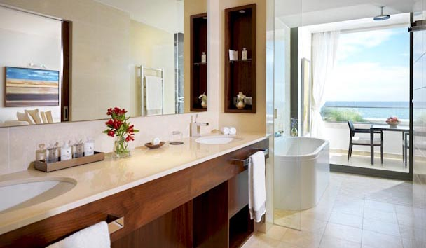 Jumeirah Port Soller Hotel & Spa: Grand Deluxe Sea View Bathroom