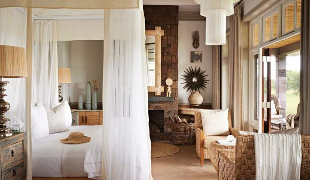 Singita Serengeti House: Suite Interior