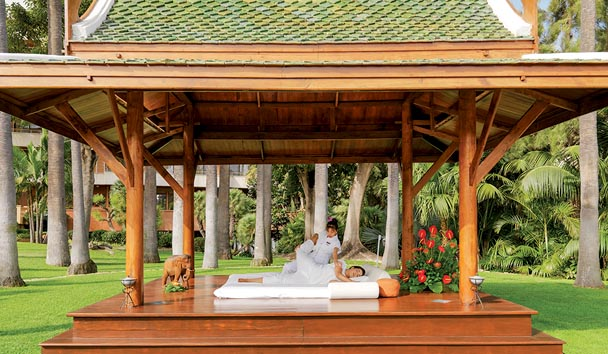 Hotel Botanico & The Oriental Spa Garden: Massage at Pagoda - The Oriental Spa Garden
