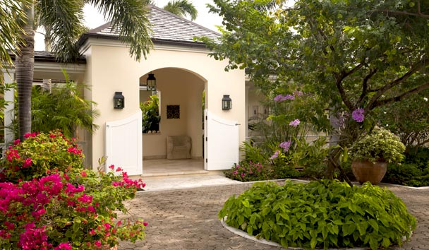 Oleander Estate House at Jumby Bay Island: Entrance