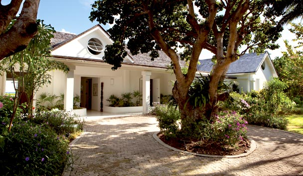 Bananaquit Estate House at Jumby Bay Island: Garden View