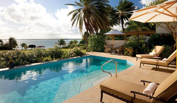 Whispering Palms Villa at Jumby Bay Island: Pool View