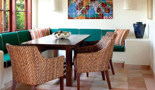 Whispering Palms Villa at Jumby Bay Island: Dining Room
