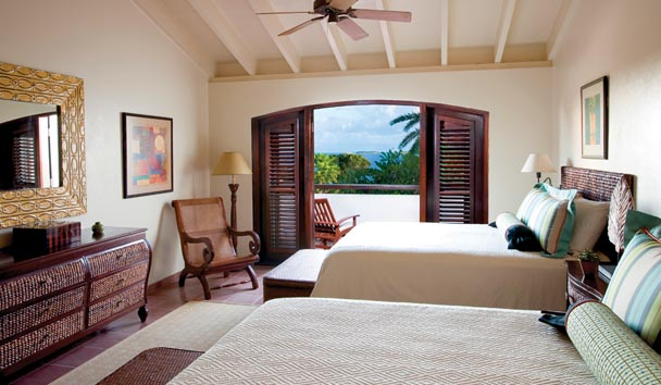 Whispering Palms Villa at Jumby Bay Island: Bedroom