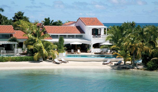 Sandy Cove Villa at Jumby Bay Island: Resort View