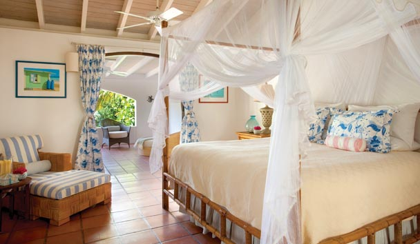 Sandy Cove Villa at Jumby Bay Island: Bedroom